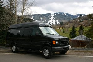 eagle-vail-transportation-black-van