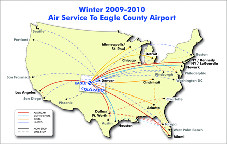 Eagle Vail Airport - Flights to Vail